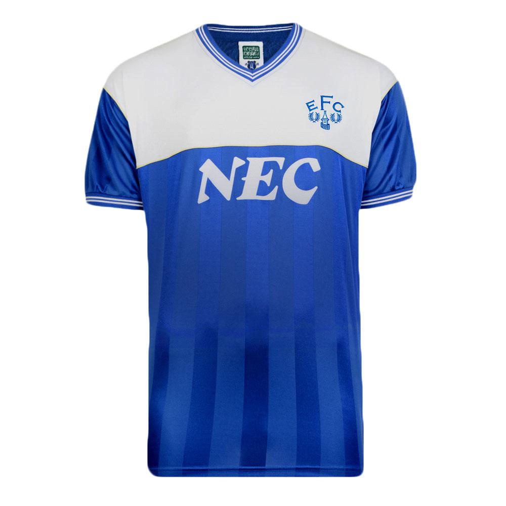 Everton 1986 Retro Football Shirt Loading Zoom