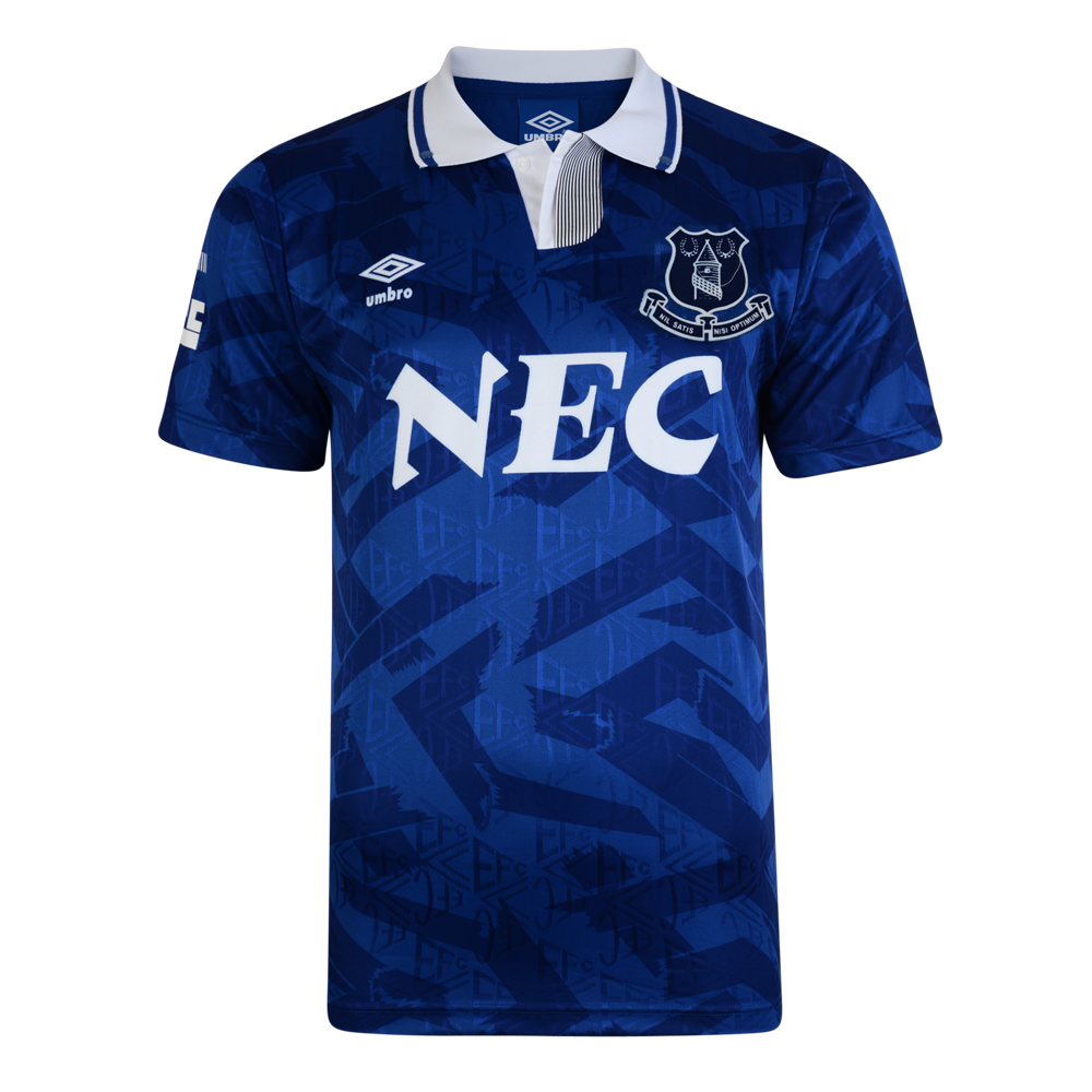 Everton 1992 Umbro Retro Football Shirt. Loading zoom 8c2539225