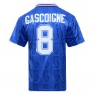 Rangers 1996 No8 Gascoigne Retro Football Shirt