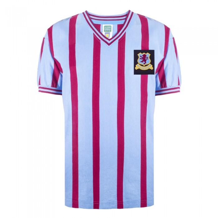 b31123490 Aston Villa 1957 FA Cup Final Retro Football Shirt