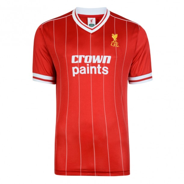 Liverpool FC 1982 Retro Football Shirt