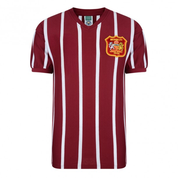 Manchester City 1956 FA Cup Final Retro Shirt