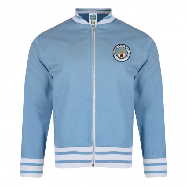 Manchester City 1972 Track Jacket Manchester City Retro