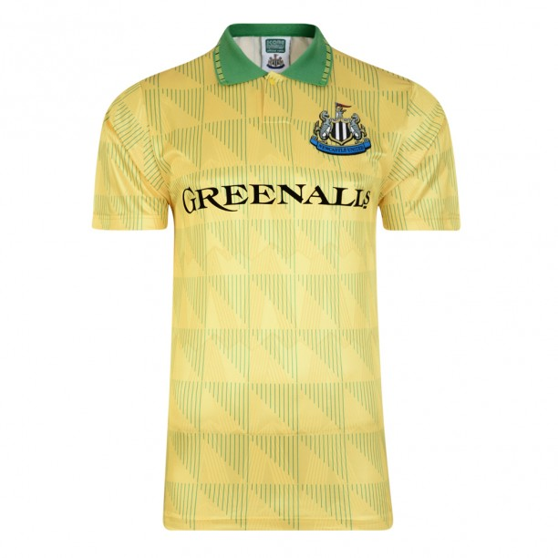 Newcastle United 1990 Away Retro Football Shirt