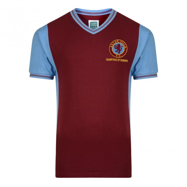 Aston Villa 1982 Super Cup Final Retro Shirt