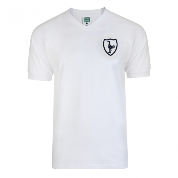 Tottenham Hotspur 1962 No8 Retro Football Shirt