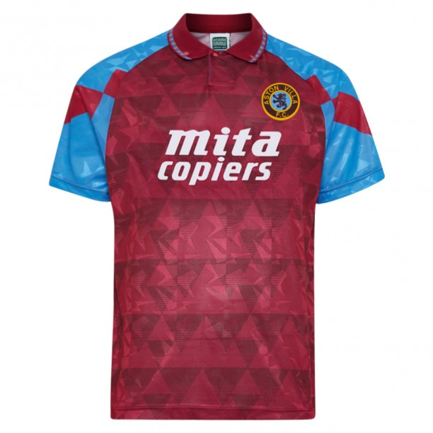Aston Villa 1990 Retro Football Shirt