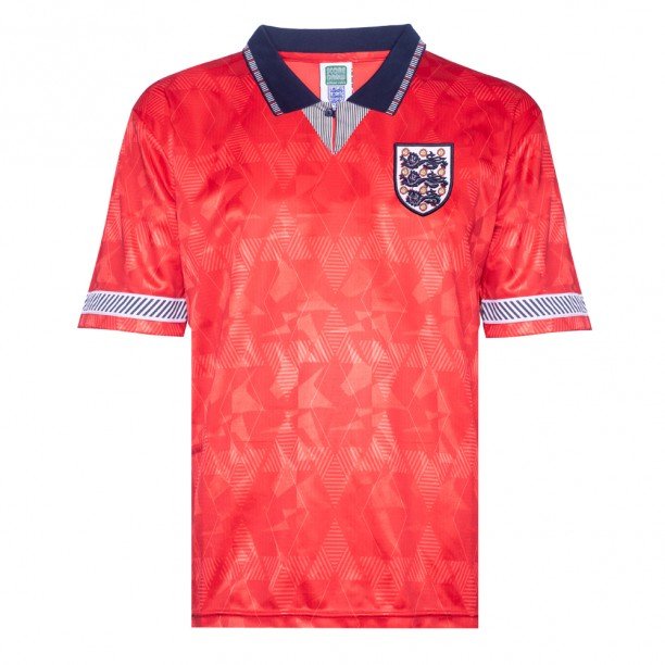 England 1990 World Cup Finals Away Retro Shirt
