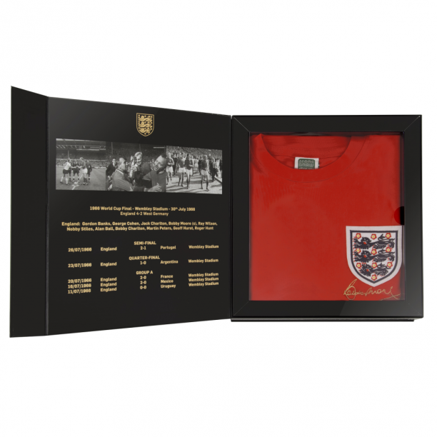 Bobby Moore 1966 World Cup Final England Box Set
