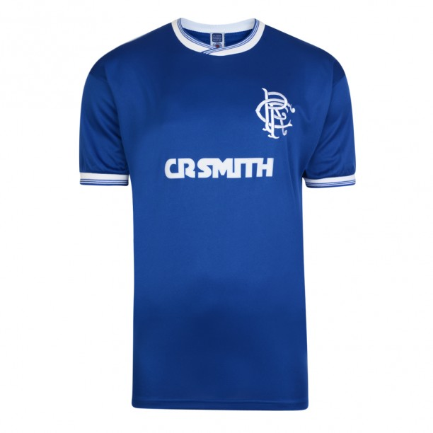 Rangers 1986 Scottish League Cup Final Retro Shirt