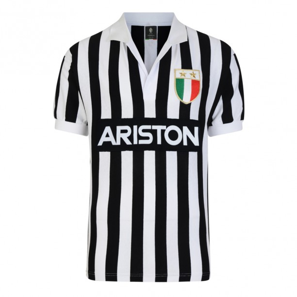 Juventus 1984 UEFA Cup Final Retro Home Shirt