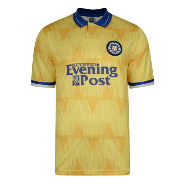Leeds United 1992 Away Retro Football Shirt