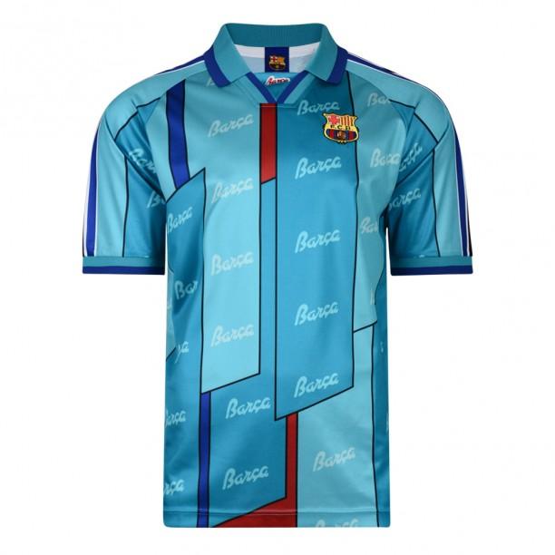 lowest price 31d86 28ede Barcelona 1997 ECWC Final shirt | Barcelona Retro Jersey ...