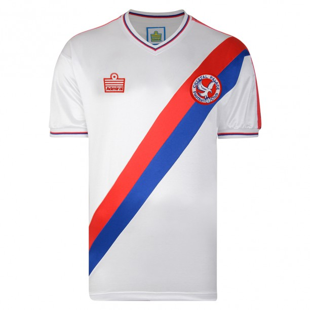 Crystal Palace 1978 Admiral Retro Football Shirt