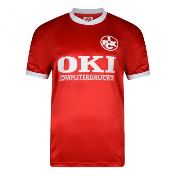 Kaiserslautern 1991 trikot Retro Football Shirt