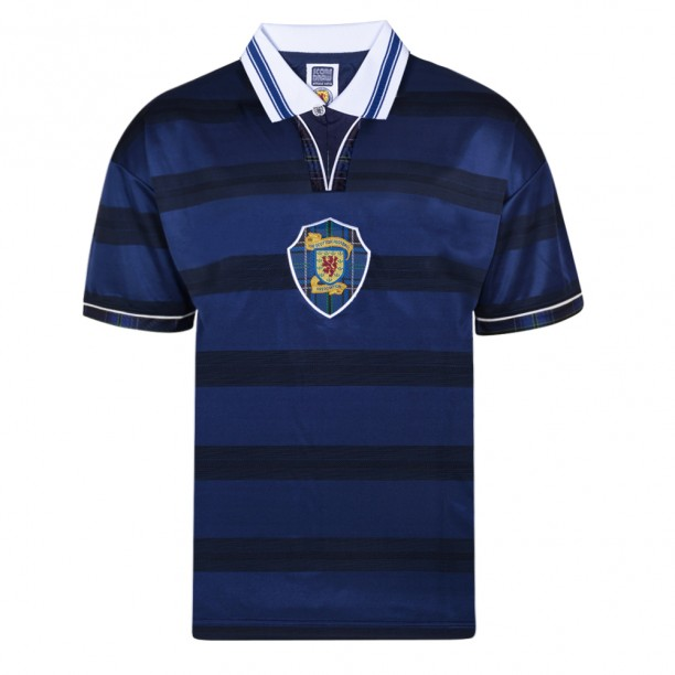 Scotland 1998 World Cup Finals Retro Shirt