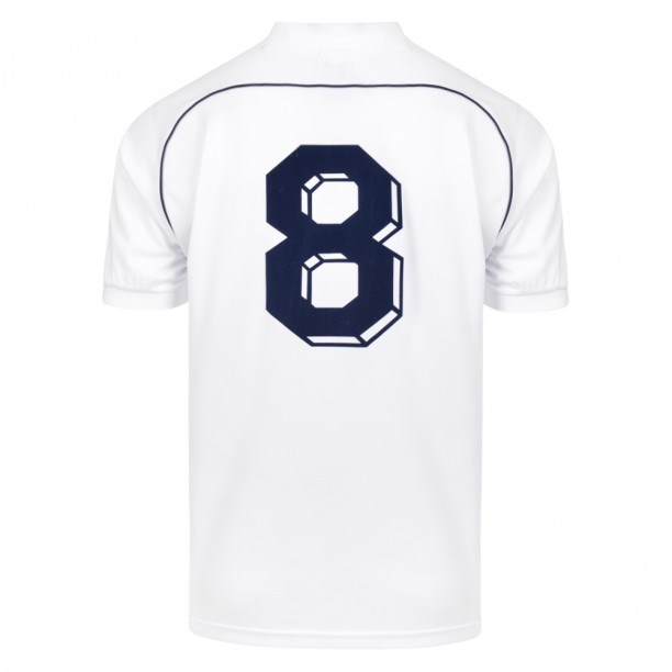 Tottenham Hotspur 1986 No8 Retro Football Shirt