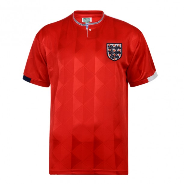England 1989 Away Retro Football shirt
