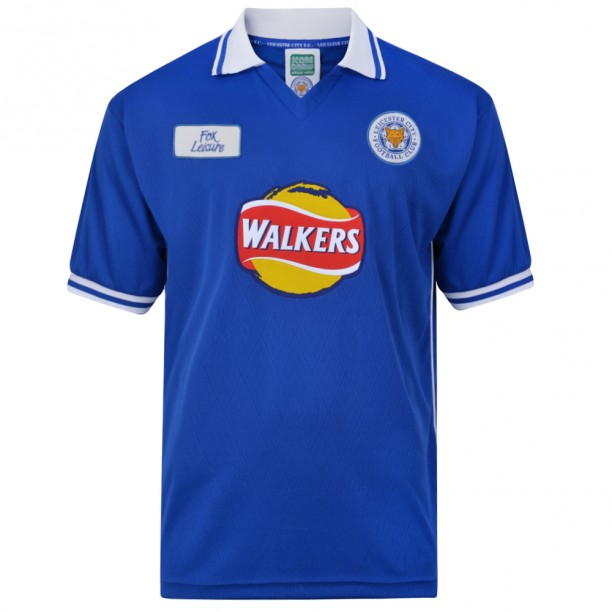 Leicester City 2000 shirt