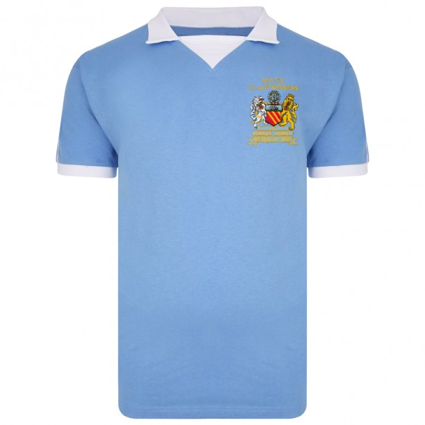 Manchester City 1976 League Cup Winners Shirt