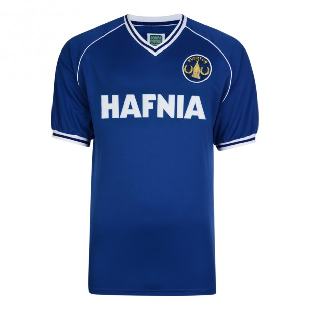 Everton 1982 Retro Football Shirt