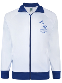 Leeds United 1972 FA Cup Final Track Retro Jacket