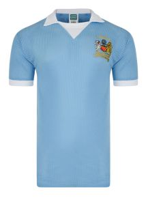 Manchester City 1976 League Cup Final Airtex Shirt
