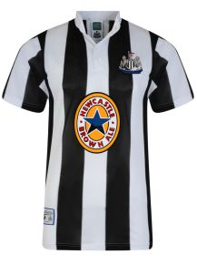 Newcastle United 1996 Retro Foobtall Shirt