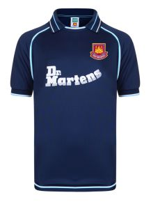 West Ham United 2000 Away Retro Football Shirt