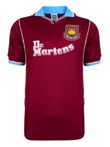 West Ham United 2000 Retro Football Shirt
