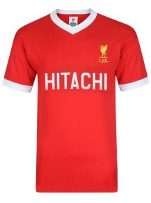 Liverpool FC 1978 Hitachi Retro Football Shirt