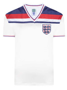 England 1982 World Cup Finals Retro Shirt