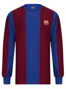 ad90da796 Barcelona 1974 Long Sleeve Retro Football Shirt