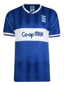 Birmingham City 1986 Retro Football Shirt