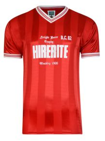 Bristol City 1986 Freight Rover Trophy Retro Shirt