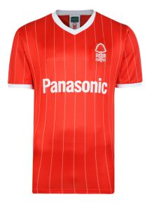Nottingham Forest 1982 Retro Home Football Shirt