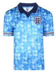 England 1990 World Cup Finals Retro Third Shirt