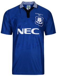 Everton 1995 Home FA Cup Retro Shirt