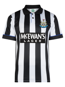Newcastle United 1995 Retro Football Shirt