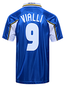 Chelsea 1998 ECWC Final No 9 Vialli shirt