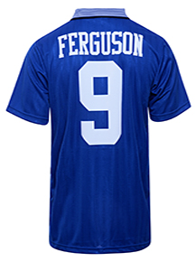 Everton 1995 Home FA Cup Final No9 Ferguson Shirt