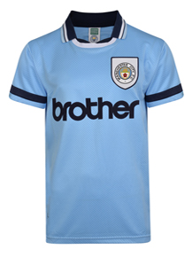 Manchester City 1994 Retro Shirt