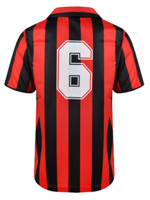 AC Milan 1988 No6 Retro Football Shirt