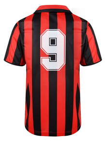 AC Milan 1988 No9 Retro Football Shirt