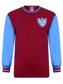West Ham United 1965 ECWC Final shirt