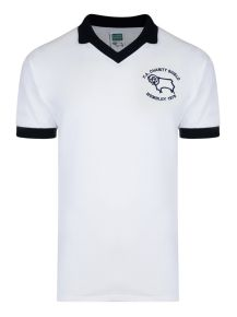 Derby County 1975 Charity Shield Retro Shirt