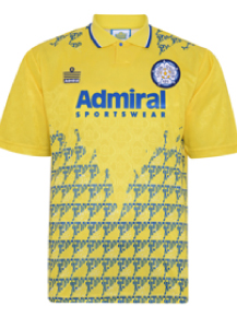 Leeds United 1993 Admiral Third shirt