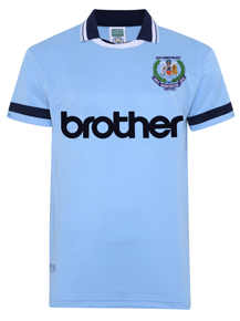 Manchester City 1994 Anniversary Retro Shirt