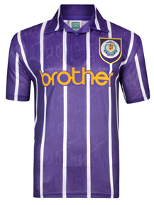Manchester City 1994 Anniversary Third Retro Shirt
