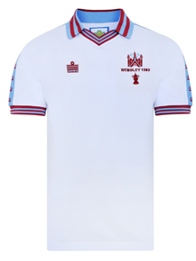 West Ham United 1980 FA Cup Final Admiral Shirt